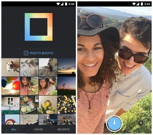Photobooth, Layout Instagram