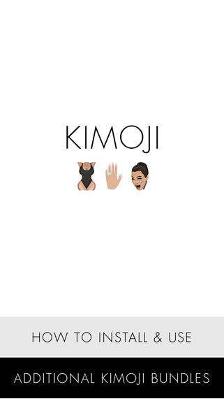 what is kimoji, are kimojis real emojis