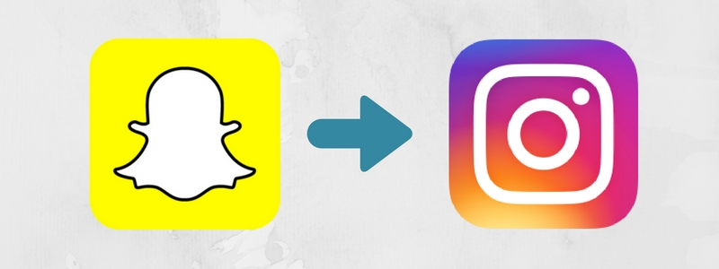 add snapchat story to instagram story